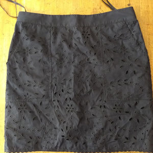 Lined cotton DKNY skirt
